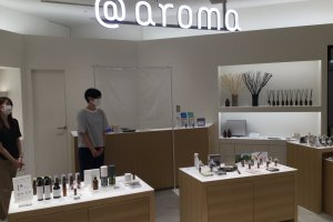 @aroma's store at the Tokyu Plaza Shibuya