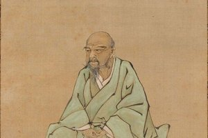 A portrait of Itō Jakuchū, one of the artists whose works feature at the exhibition