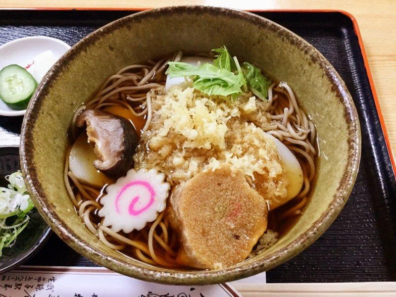 Mitaniya's original Hyottoko soba