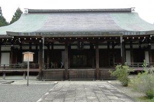 A sala principal do Templo Saiho-ji