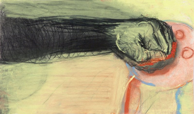 One of Miriam Cahn's works - Cahn will be featured in this special exhibition