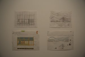 Set design and other sketches also accompanied the film giving you a further look into its production.
