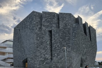 A monolith of a museum!