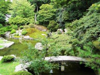 The garden at Shoren-in