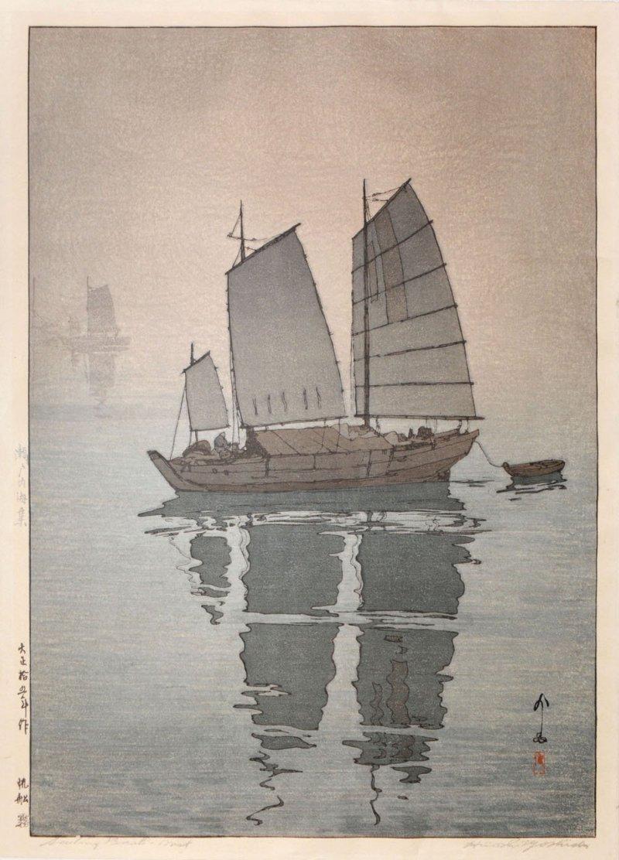 An example of Hiroshi Yoshida's work