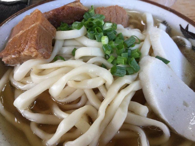 Okinawan soba made the traditional way