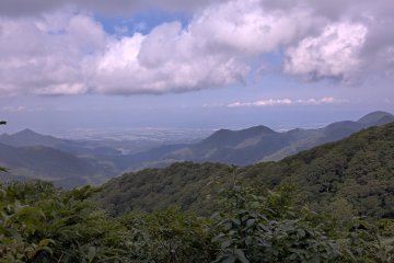 The view on the way to Mt Ushigata