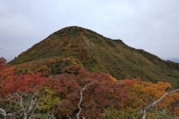 Near the top of Mt Ushigata
