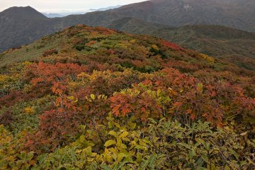 From the top of Mt Ushigata