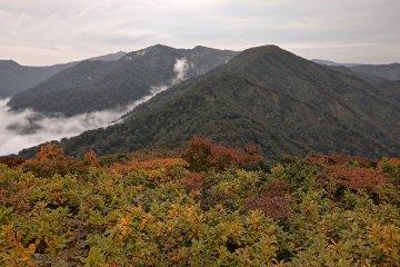 Mt Washigamori seen from Geto ski area