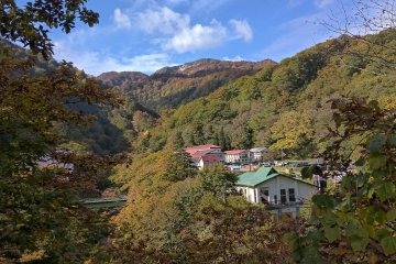 Three Summit Hike Around Geto Onsen