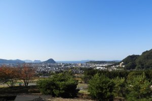 View from Togei no Mura Park