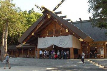 Храм Хоккайдо