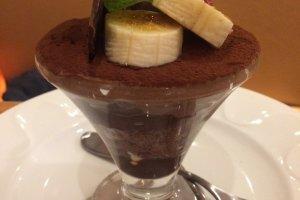 Chocolate mini parfait