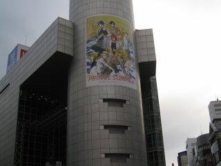 传说中光怪陆离的涩谷109.是真正的潮人天地。里面尽是一些高中生模样的10几岁的少女。
