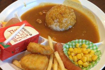 <p>Kid&#39;s curry set</p>