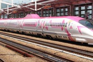 The Hello Kitty Shinkansen
