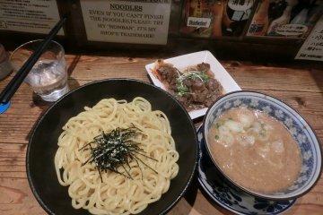 Kipposhi吉法师拉面:牛肉日式拉面(蘸酱拉面)