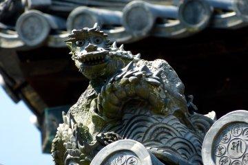 Kaidan-in at Todai-ji Temple