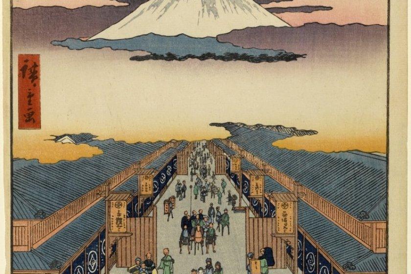 Suruga-cho by Hiroshige