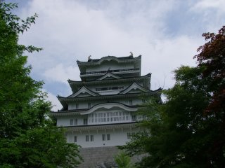 The castle contains six floors