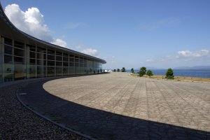 The Shimane Art Museum was designed by Kiyonori Kikutake.