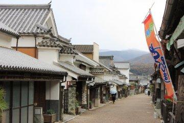 มินามิมาชิอุดะซึถนนเก่าสไตล์ญี่ปุ่น