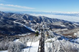 The Top Four Snowy Slopes of Nagano, Niigata
