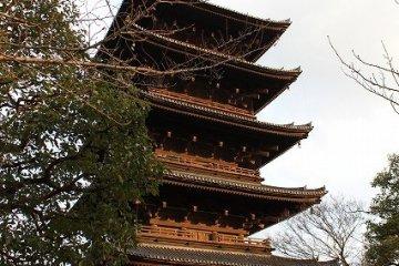 Goju-no-to in Toji, symbol of Kyoto