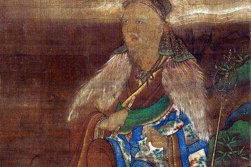 A portrait of En-no-Gyoja