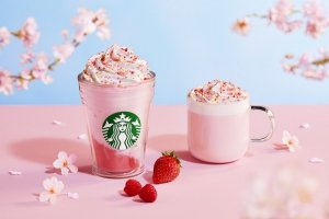 Sakura Season at Starbucks Japan