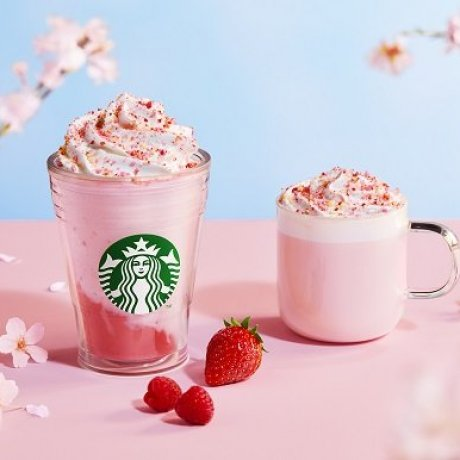 Sakura Season at Starbucks Japan