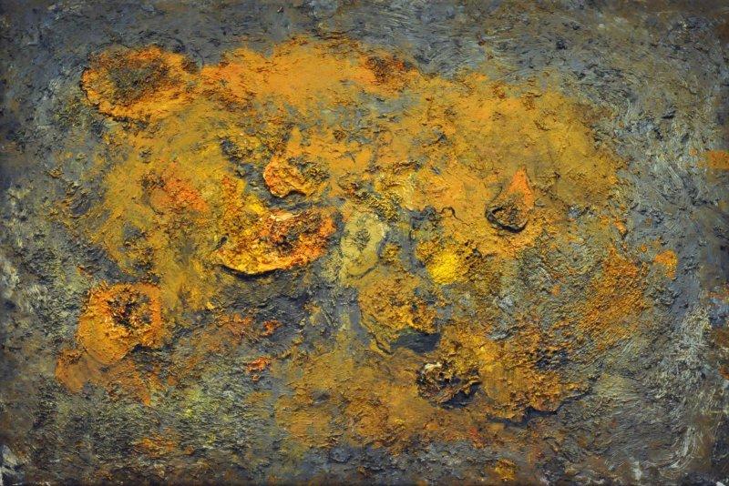 """One of Barceló's works: """"Des Potirons (pumpkins)"""", 1998"""
