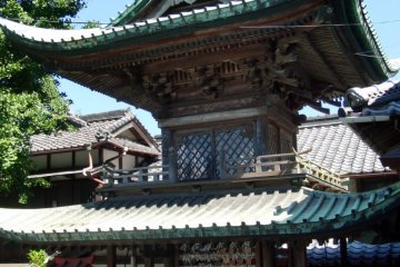 One of the two pagodas