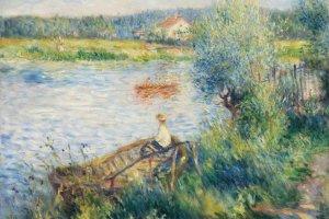 An example of Renoir's landscape art