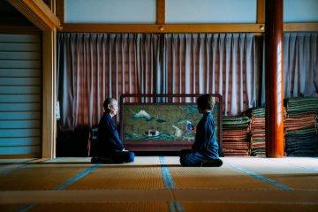 Meditation at Yamadera
