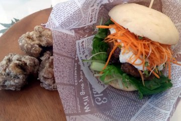 Vegan Burger Nourish