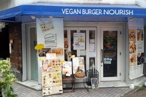 Entrance of Vegan Burger Nourish