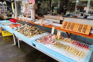 Oarai Fish Market