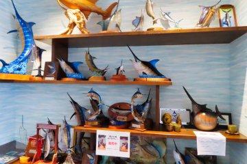 Marlin memorabilia