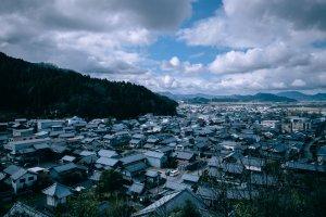 Aerial View of Echizen Village