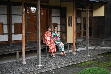 A kimono experience