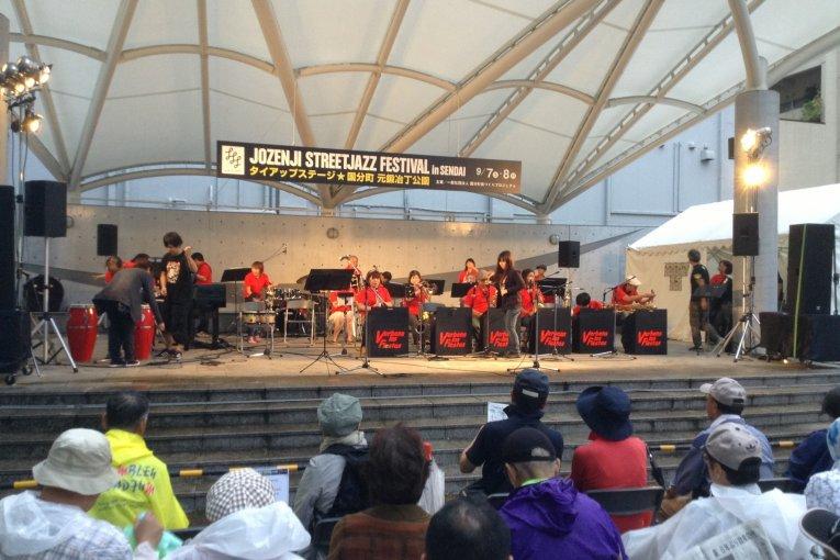 Jozenji Street Jazz Festival Sendai