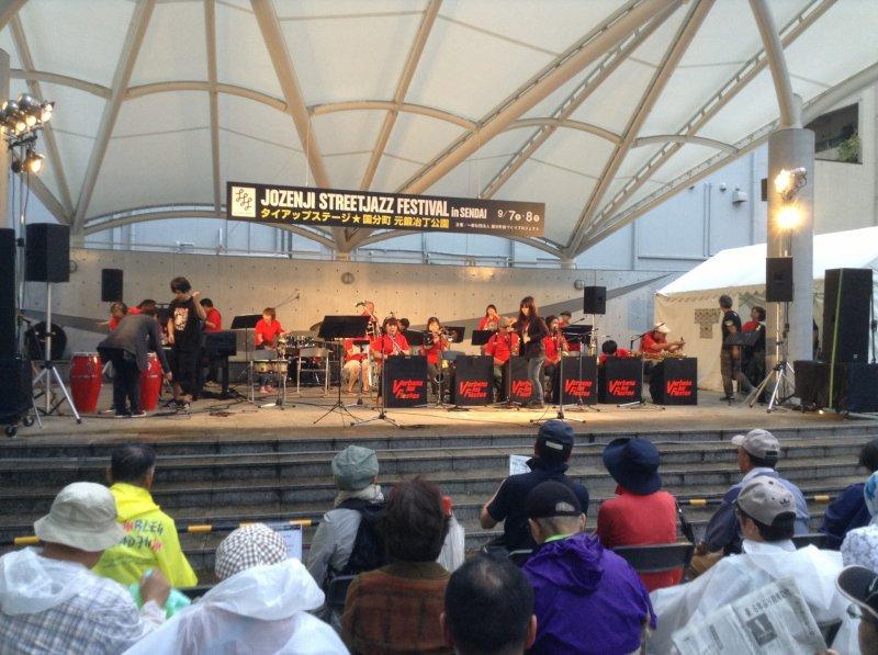 Get up close to the big stage at Jozenji Street Jazz Festival Sendai