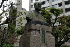 Statue of Mitani Chozaburo