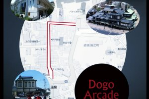 Map of the arcade