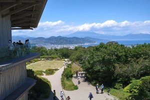 View from the plateau's Yume Terrace
