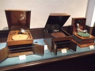 In the Phonograph Museum
