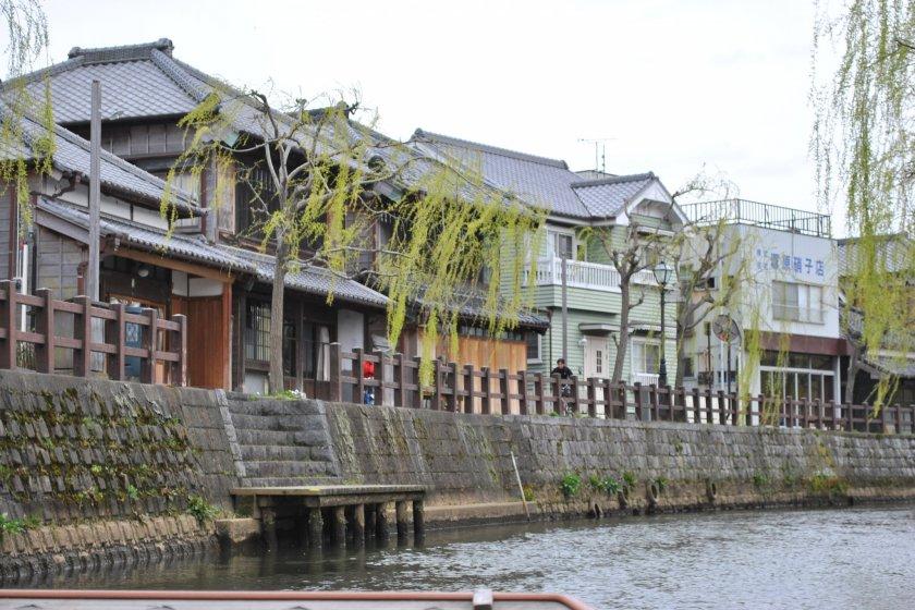 Sawara Machinami, the Edo era townscape