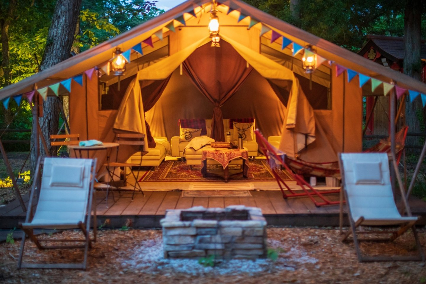 Hakuba\'s Mominoki Hotel have combined the glamping and workation concepts
